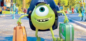 Monsters U Mike Arrives at School